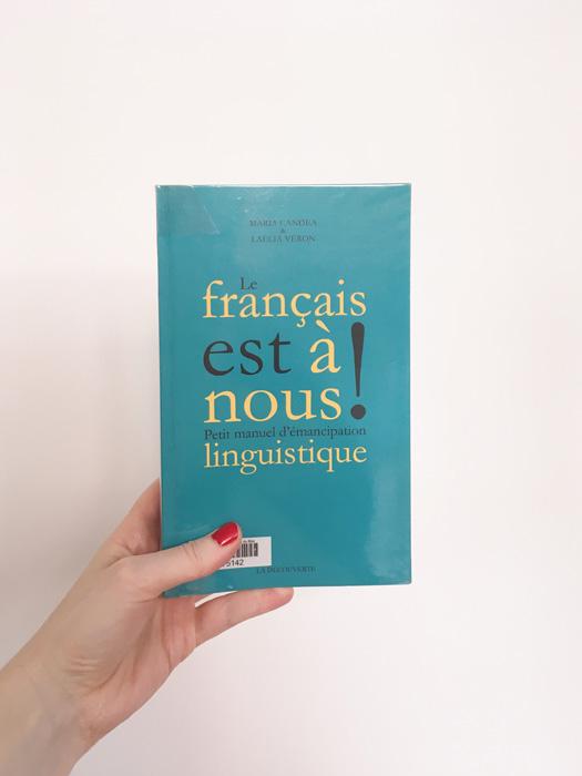 le français est à nous